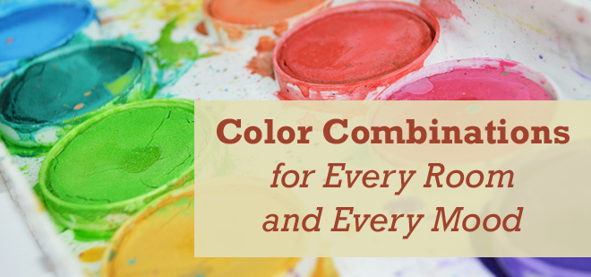 Color Combinations for Every Room