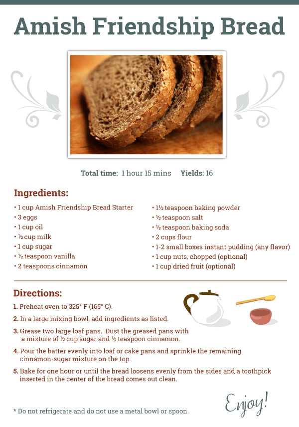 amish recipes for bread