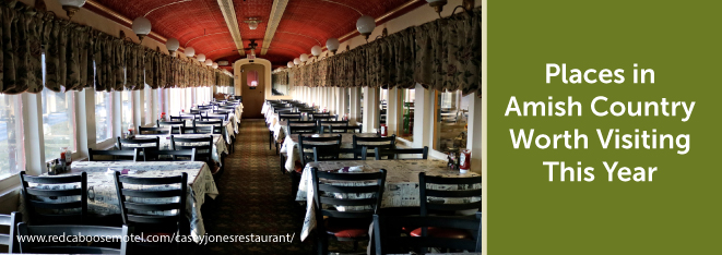 Places in Amish Country Worth Visiting This Year - Red Caboose Motel Image