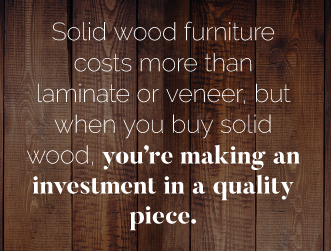 Cons of Solid Wood Furniture