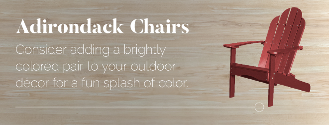 Colorful Poly Adirondack Chair