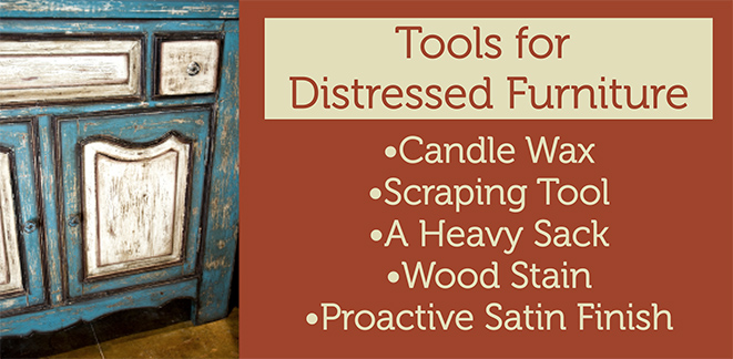 Lists of Tools for Distressed Shabby Chic Furniture