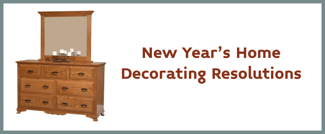 New Year S Home Decorating Resolutions