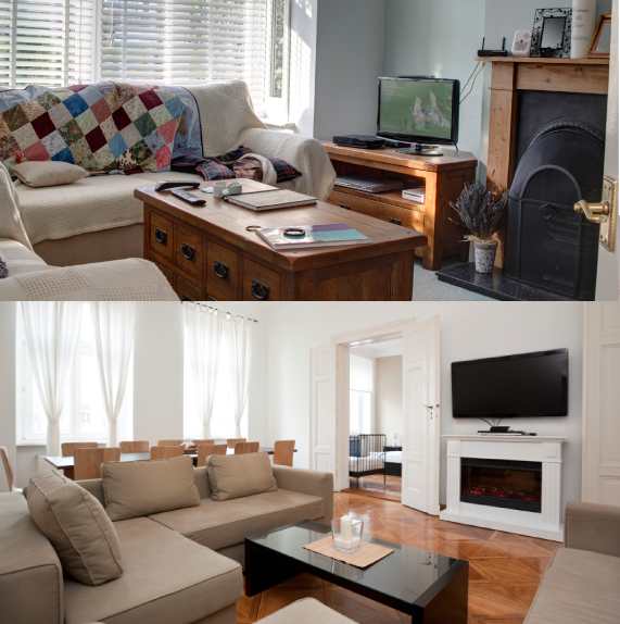 Livingroom Eliminate Clutter