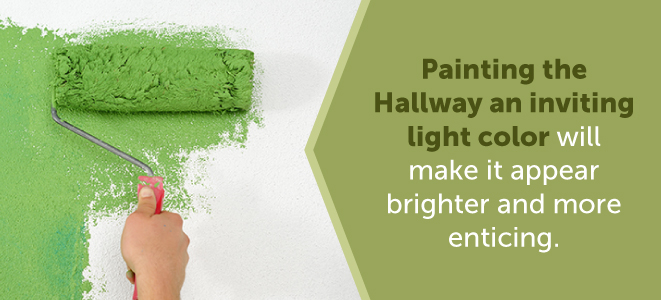 painting the hallway