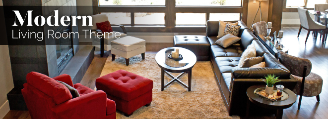 Modern Living Room Furniture Theme