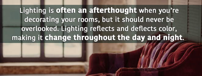Lighting is often an afterthought, but shouldn't be