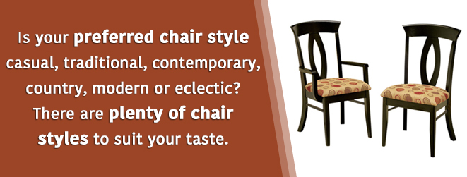 Chair style varieties