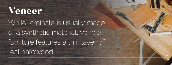 Veneer furniture details