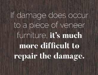 Cons of Veneer Furniture
