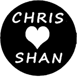 Chris Shan Heart Logo