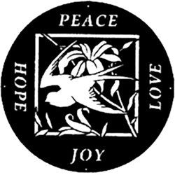 Peace, Hope, Joy, and Love Logo