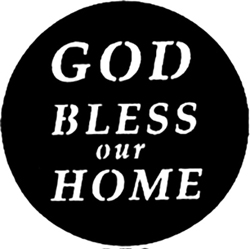 God Bless Our Home Logo
