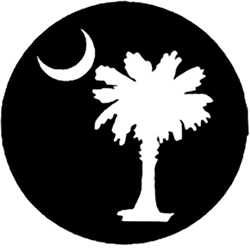 Palm Tree Under the Moon Logo