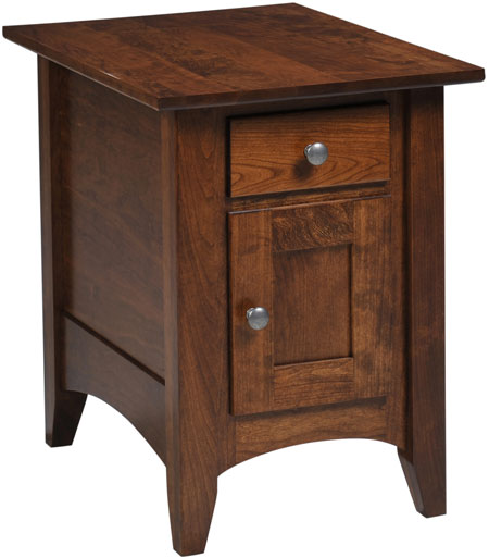 up to 33 off bailey end table solid wood amish furniture. Black Bedroom Furniture Sets. Home Design Ideas