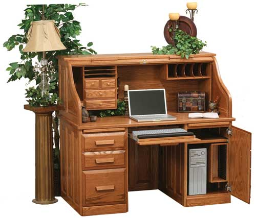 Up to 33 Off Rolltop Computer Desk Amish Outlet Store