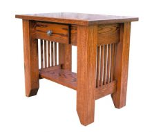 Deluxe Mission End Table