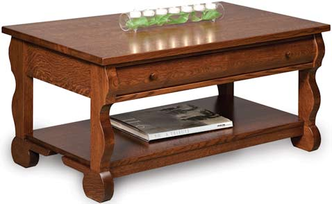 Up to 33 Off Old Classic Sleigh Coffee Table Amish Outlet Store