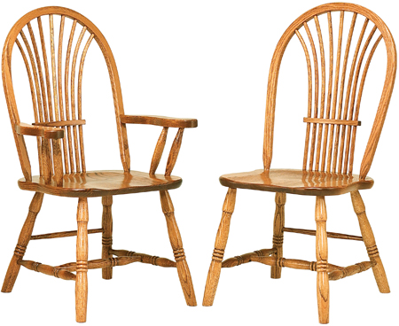 Up To 33 Off Country Sheaf Chair Solid Wood Amish Furniture