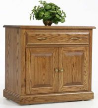 traditional storage cabinet w drawer