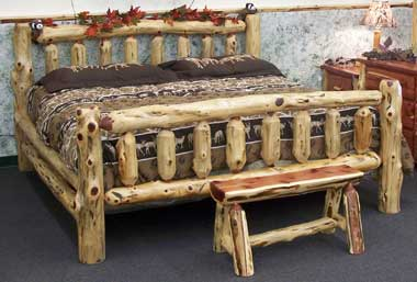 Up to 33% Off Cedar Bed | Solid Wood Amish Furniture