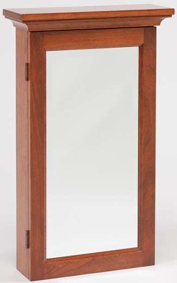 Up to 33 Off Mirrored Wall Jewelry Armoire Wood Furniture