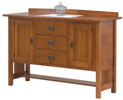 Amish Rustic Dining Room Sideboard Server Buffet Cambridge: Up To 33% Off Amish Servers And Sideboards