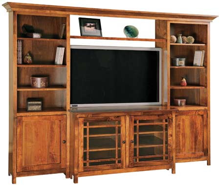 Up To 33 Off Jason Mission Wall Unit Amish Outlet Store