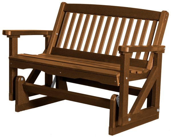 Two Person Wooden Rocking Chair