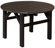 Dark Brown Outdoor Wooden Table