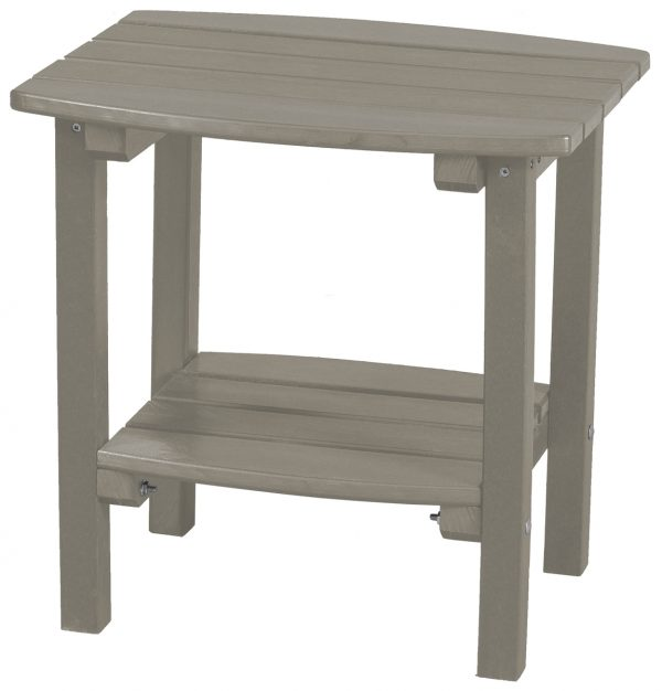 Cream Wooden Side Table