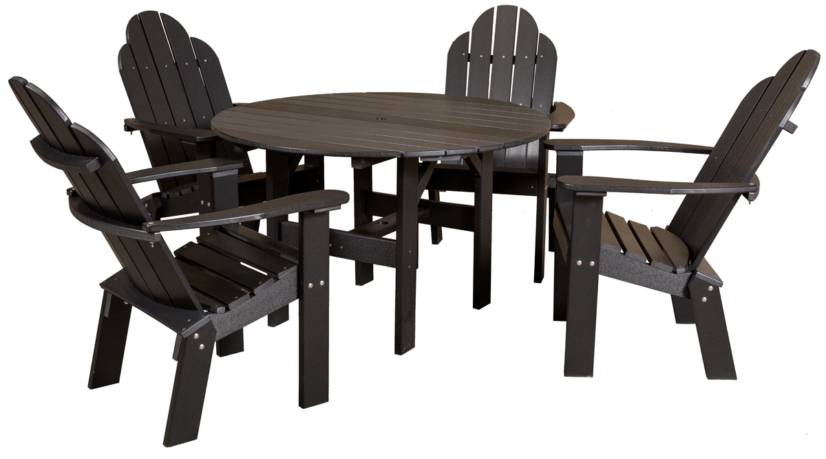 46 Inch Round Table.Traditional 46 Round Table Dining Set