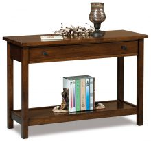 Dark Brown Entry Table