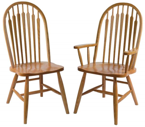 light stained bent back chairs