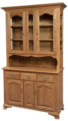 Light wooden hutch