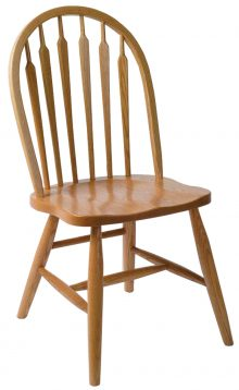 Light wooden kitchen chair