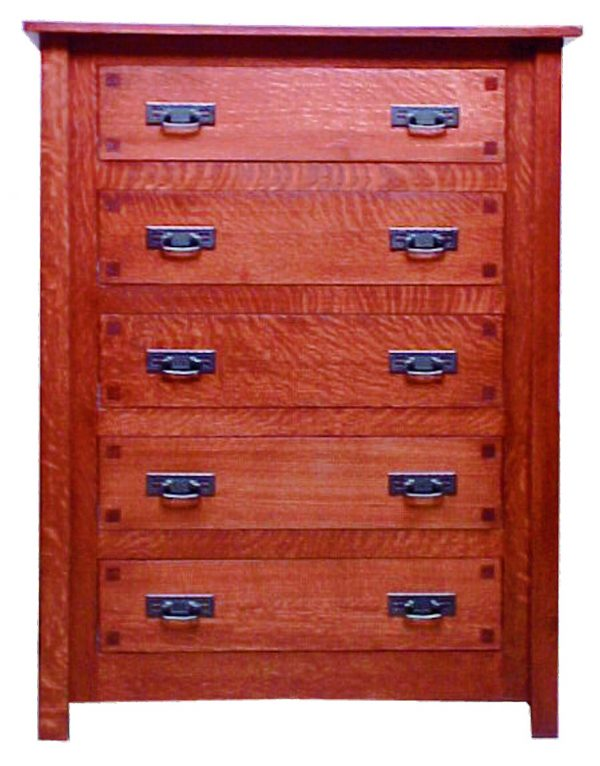 Mission Square Chest of Drawers