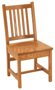 Short Mission Chair