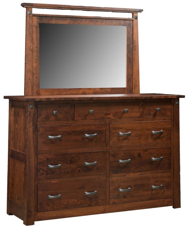 Freehold Estate Dresser with Mirror