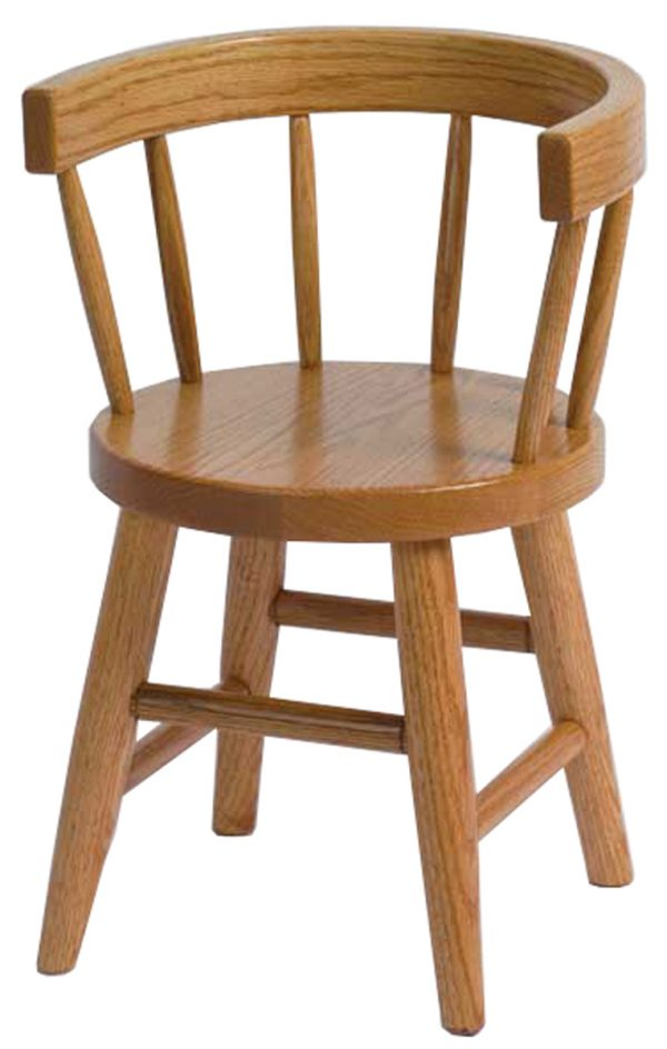 Brown Maple Child's Chair
