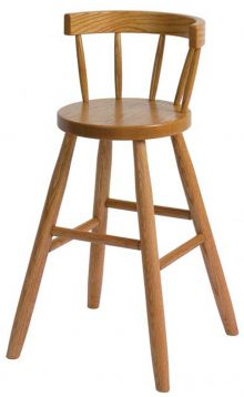Brown Maple Youth Chair