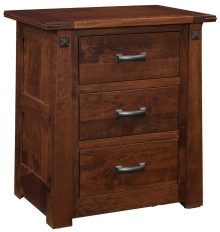 Freehold Estate 3-Drawer Nightstand