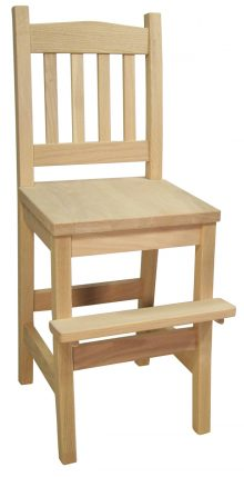 Mission Youth Chair in Oak