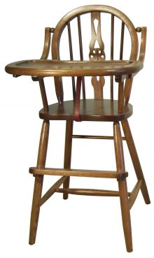 Windsor High Chair in Oak