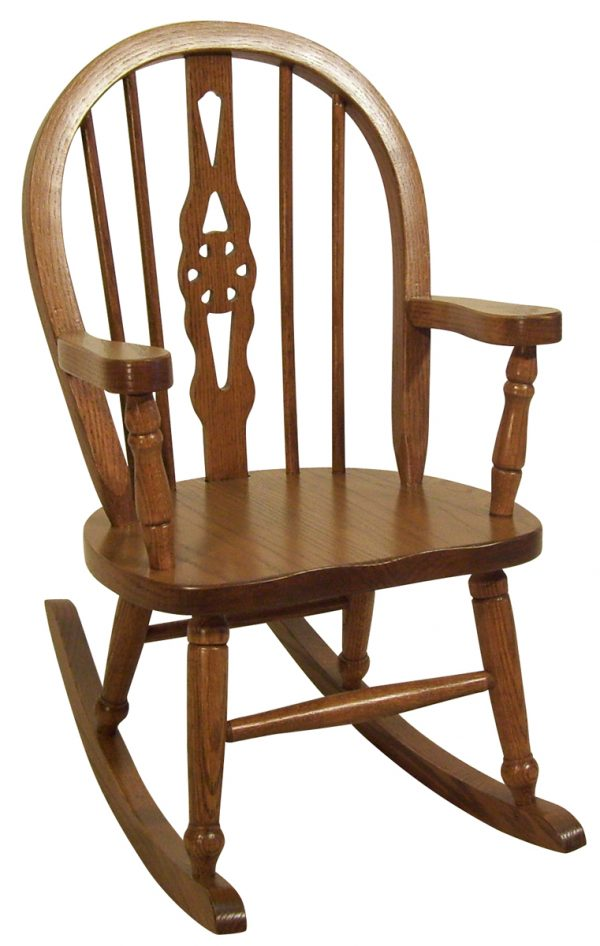 Child's Windsor Rocker in Oak
