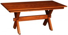 "36"" x 60"" X-Base Trestle Table"