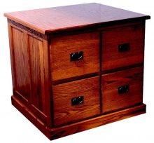 Mission Double File Cabinet
