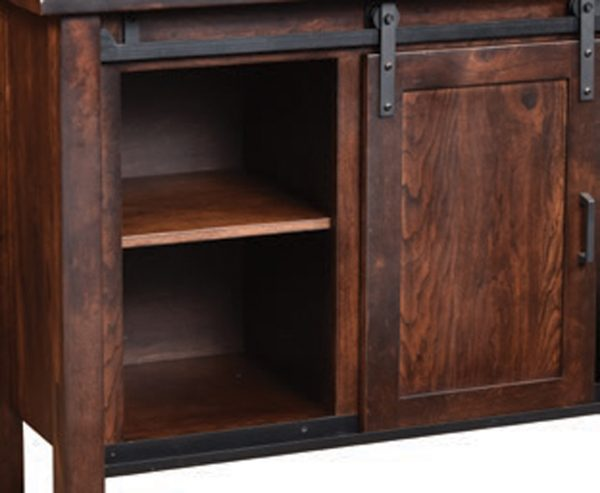 Lane Farmhouse Buffet with Open Drawers
