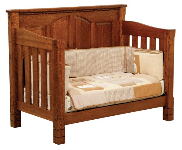 A wooden frame for a couch