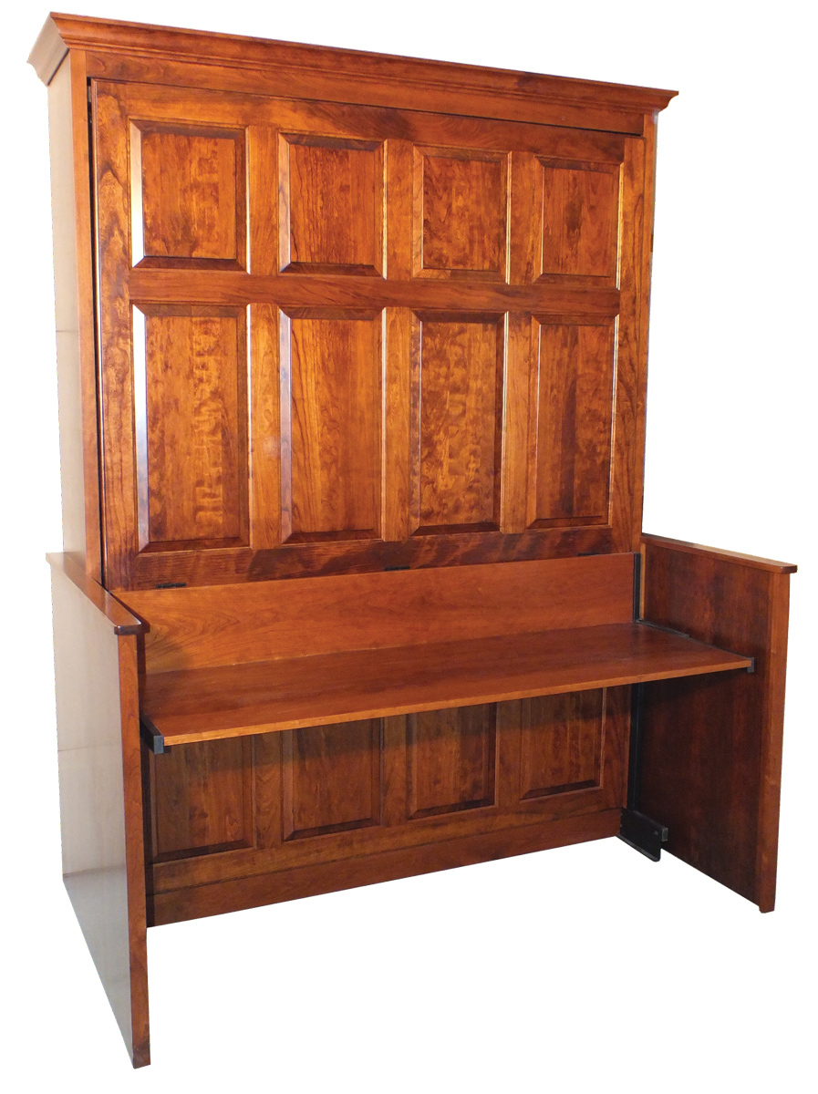 Picture of: Up To 33 Off Murphy Bed Studio Desk Amish Outlet Store